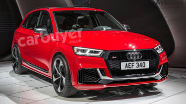 Expect the same 444bhp twin-turbo 2.9-litre V6 engine found in the RS5 coupe to be fitted to the RS Q5 SUV