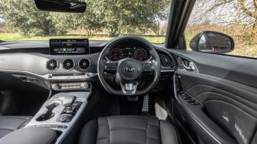 2021 Kia Stinger interior