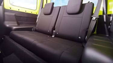 Suzuki Jimny SUV rear seats