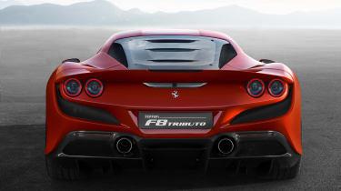 Ferrari F8 Tributo rear end