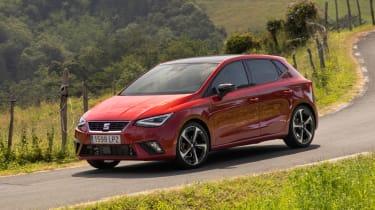 2021 SEAT Ibiza - front 3/4 dynamic