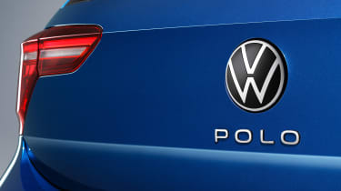 2021 Volkswagen Polo - rear badging