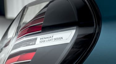 New Renault ZOE - rear light cluster close up