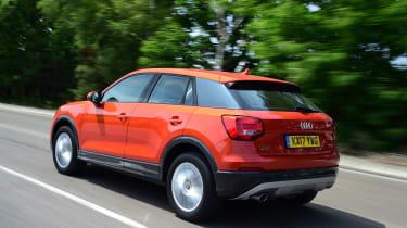 Audi Q2 - rear 3/4 dynamic