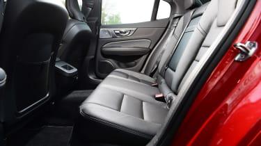 Volvo S60 saloon rear seats