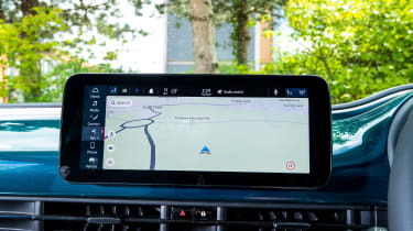 Fiat 500 electric navigation