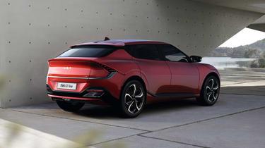 2021 Kia EV6 GT-Line - rear 3/4 vie