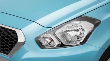 Datsun GO hatchback 2013 headlight detail