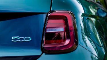 Fiat 500 electric rear lights