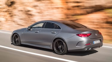 The sheer size of the CLS means it's not exactly nimble, but it is satisfying to drive, flowing nicely between corners