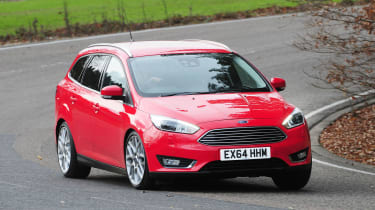 It's one of the best cars to drive in its class, with little body lean in corners and well-weighted steering