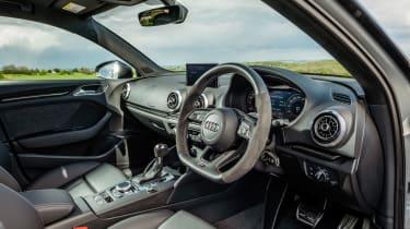 Audi RS3 steering wheel