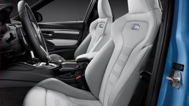 BMW M3 saloon 2014 front seats