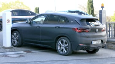 BMW X2 facelift rear