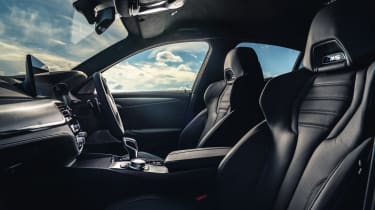 2021 BMW M5 Competition saloon - front seats