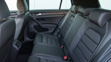 The Golf R offers impressive rear seat space as well