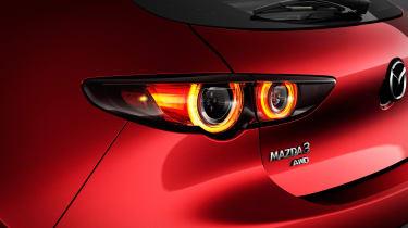 2019 Mazda3 hatchback lights