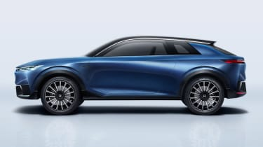 Honda SUV e:concept side
