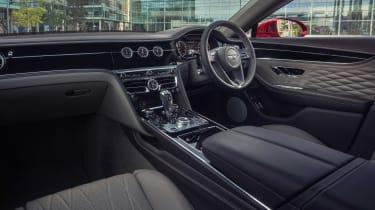 Bentley Continental Flying Spur saloon interior