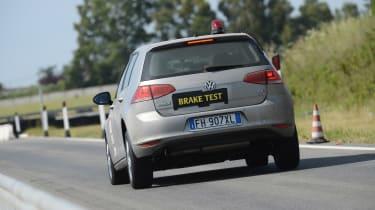 Best car tyres 2021 - Brake testing
