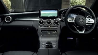 Mercedes C-Class Estate interior