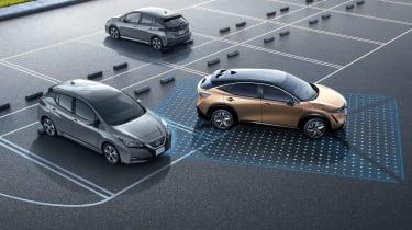 Nissan Ariya - ProPilot Park demonstration graphic