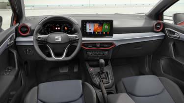 2021 SEAT Ibiza FR Desire Red - interior