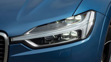 Volvo XC60 SUV headlights