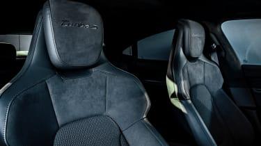 Porsche Taycan saloon front seats
