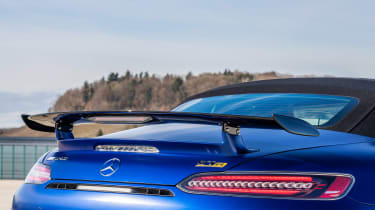 Mercedes-AMG GT R Roadster tail