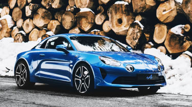 Alpine's return to the sports car sector is marked be the lightweight A110 coupe