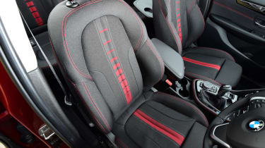 BMW 2 Series Gran Tourer front seats