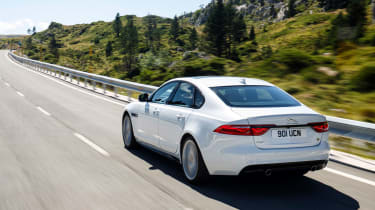 The XF is now more practical and boasts lower running costs, without being any less stylish