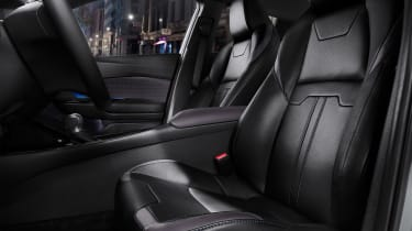 Most models feature heated front seats