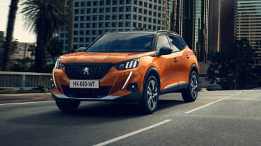 New Peugeot 2008 - front 3/4 static
