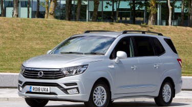 2018 SsangYong Turismo front