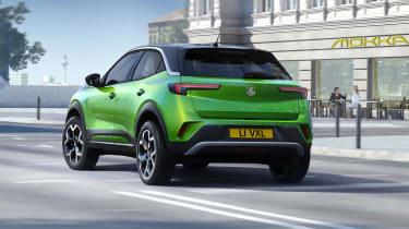 Vauxhall Mokka SUV revealed - rear 3/4