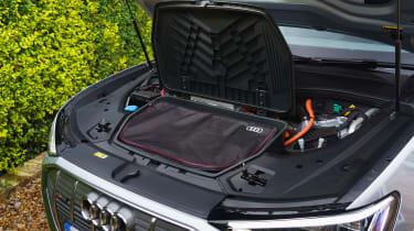 Audi e-tron Sportback SUV engine bay