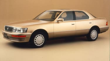 The first ever Lexus, the LS400 showed that Toyota's standalone upmarket brand really could mix it with German premium brands