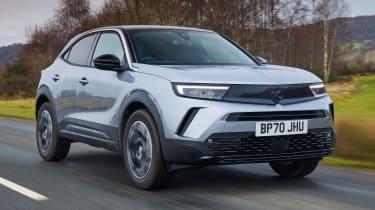 2021 Vauxhall Mokka - front 3/4 dynamic
