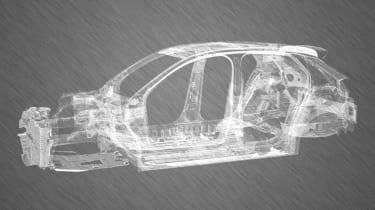 2019 Vauxhall Corsa prototype chassis