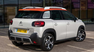 A taller ride helps the C3 Aircross ride smoothly, but it's firm enough to resist body lean in corners