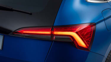 2019 Skoda Scala rear light