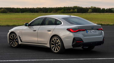 New BMW 4 Series Gran Coupe - rear 3/4 static