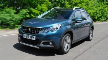 The Peugeot 2008 fights the Renault Captur, Nissan Juke and Ford EcoSport for customer