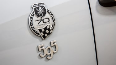 Abarth 595 70th Anniversary badge