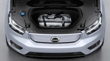 Volvo XC40 Recharge front boot