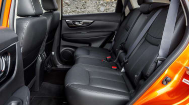 2017 Nissan X-Trail - rear seats