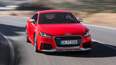 The Audi TT RS is very nearly as fast as the R8 supercar, but costs a fraction of the price