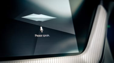 BMW M235i Gran Coupe saloon voice assistant